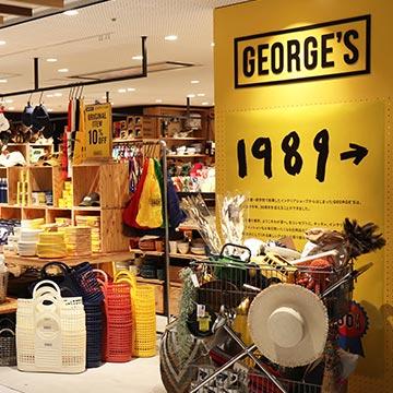 GEORGE'S シャポー市川店オープン!