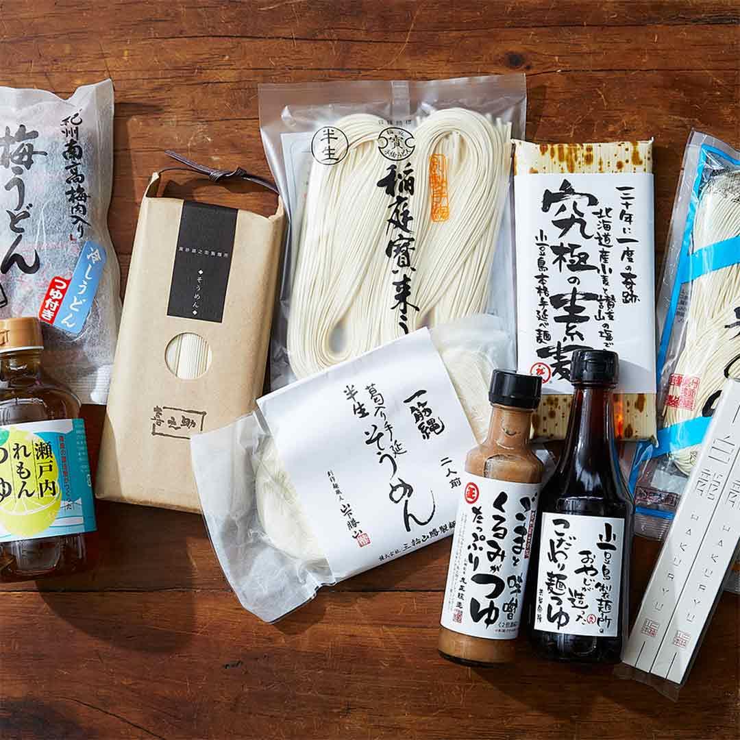 ONLINE STOREでは「夏の麺」を特集しています 6/28~