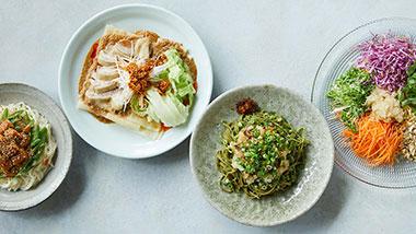 たっぷりの具材といただく、夏の和え麺レシピ