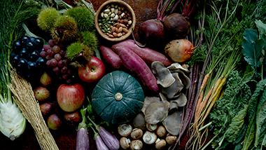 実りの秋の収穫祭