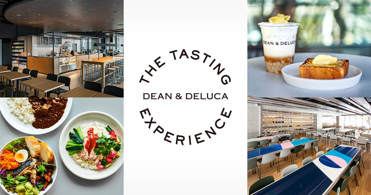 The tasting Experience BY DEAN & DELUCA
