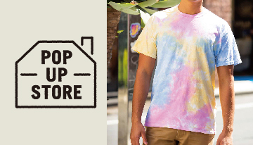 〈 The Colortone tie-dye Co. 〉POP UP STORE