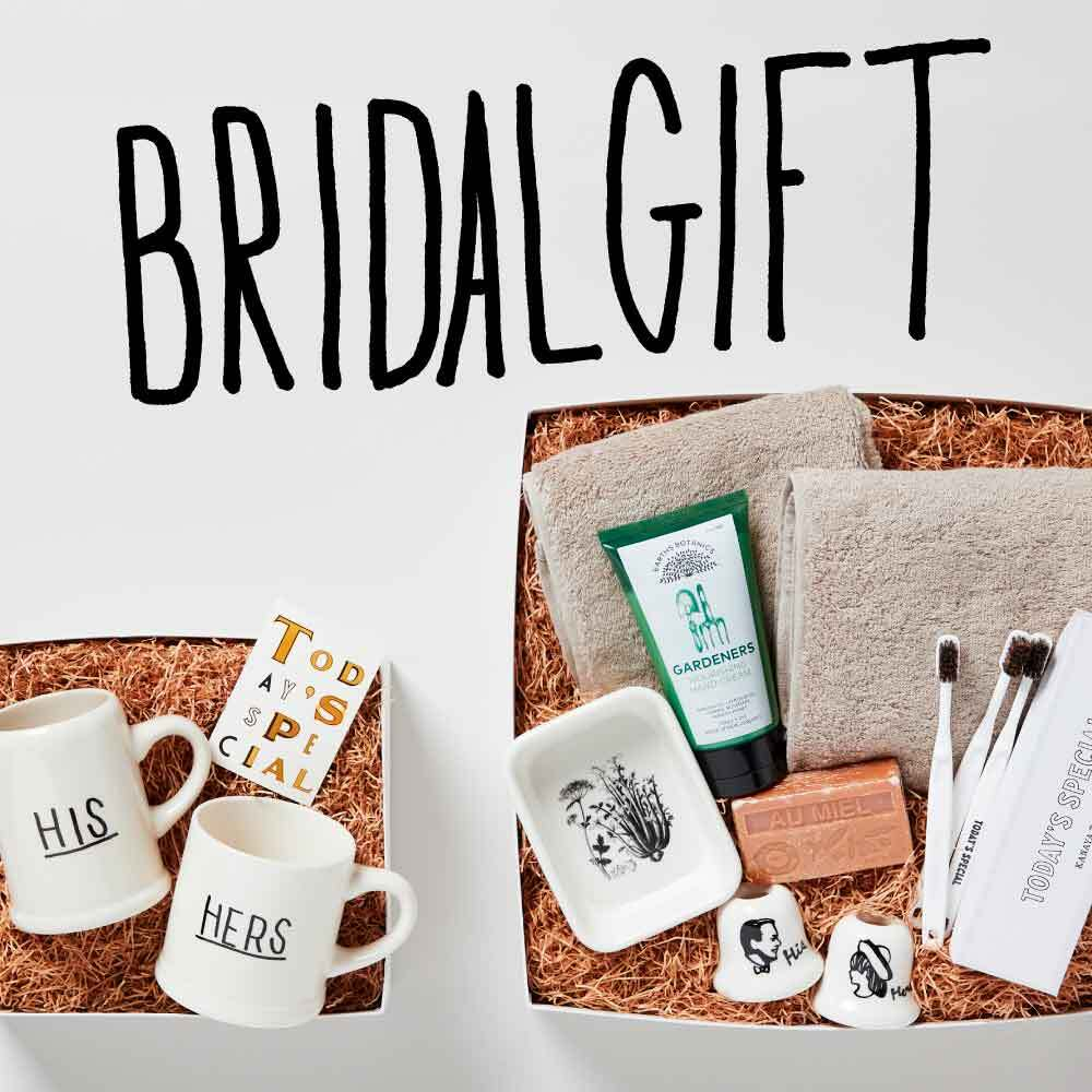 【ONLINE STORE】BRIDAL GIFT